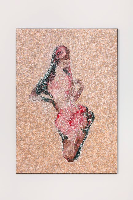 Zarina by Shahzia Sikander contemporary artwork
