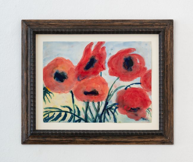 Roter Mohn (Red Poppies) by Emil Nolde contemporary artwork