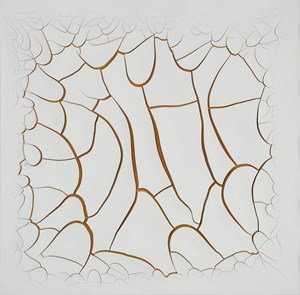 White Mimbres V by Adriana Varejão contemporary artwork