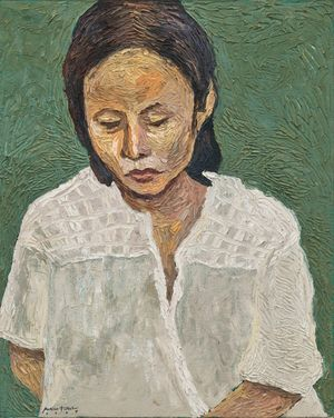 Postpartum by Marina Cruz contemporary artwork