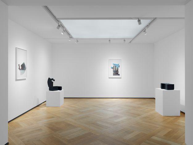 Exhibition view:Melissa McGill, In Venice, Mazzoleni, London (23 June–18 September 2021). Courtesy Mazzoleni, London - Torino.Photo: Todd-White Art Photography.