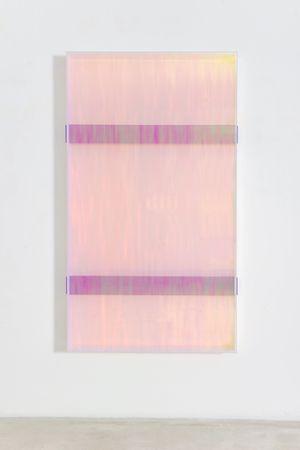 colormirror rainbow double bars violet toronto by Regine Schumann contemporary artwork