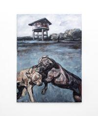 Woeste gevegte by Johann Louw contemporary artwork painting