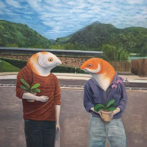 Where Have All Your Flowers Gone? by Ant Ngai Wing Lam contemporary artwork