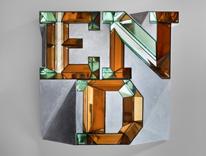 END (mirror) by Doug Aitken contemporary artwork