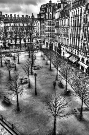 Place Dauphine by Marshall Vernet contemporary artwork