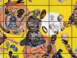 'The Rebellion of the Dead': a retrospective of Indian artist Nalini Malani at Centre Pompidou, Paris