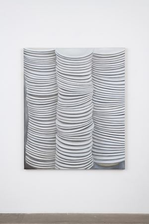 Untitled (Dinner Plate) by Kim Dingle contemporary artwork