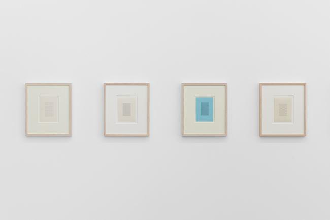 Strukturblätter by Ruth Wolf-Rehfeldt contemporary artwork
