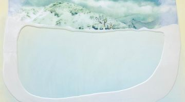 Contemporary art exhibition, Eloise Kirk, From the Crater at Gallery 9, Sydney