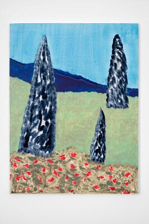 Three Cypress by March Avery contemporary artwork