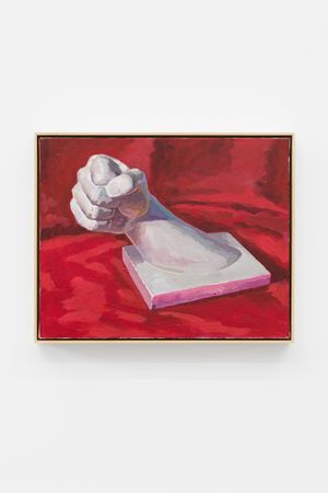 The Plaster Hand by Ge Yulu contemporary artwork painting, sculpture