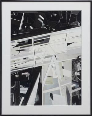 Metro Series (Sky Train) by Gary-Ross Pastrana contemporary artwork painting, works on paper, photography, print