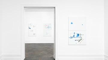Contemporary art exhibition, Michael Krebber, Wirklichkeit erschlägt Kunst at Galerie Buchholz, Berlin, Germany