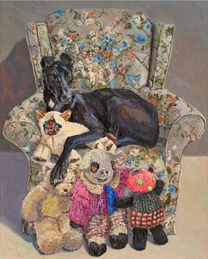 Mayday with toys by Lucy Culliton contemporary artwork