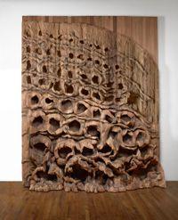 Oziksien by Ursula von Rydingsvard contemporary artwork sculpture