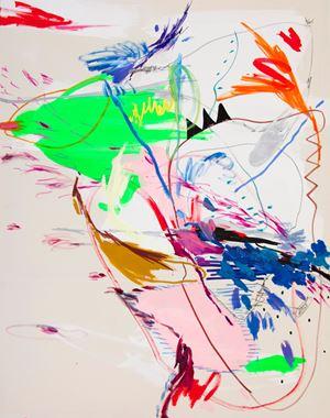 Fly, Fly No.1 by Wang Xiyao contemporary artwork painting