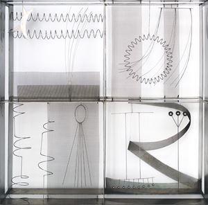 Contrappunto IV by Fausto Melotti contemporary artwork