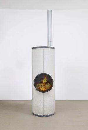 Dark Matter by Oscar Tuazon contemporary artwork