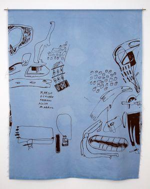 Meses (Azul) by Cristina Umaña Duran contemporary artwork