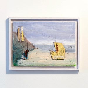 Architectural Things Beachscape 1 by Paul Connor contemporary artwork