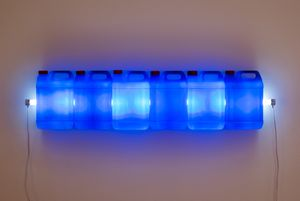 Strait (Blue) by Bill Culbert contemporary artwork