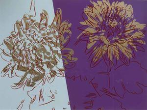 Kiku by Andy Warhol contemporary artwork