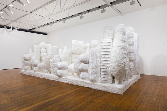 installation view, Kathy Temin: Mothering Gardens, Roslyn Oxley9 Gallery, Sydney (12 May – 12 June 2021). photo: Luis Power