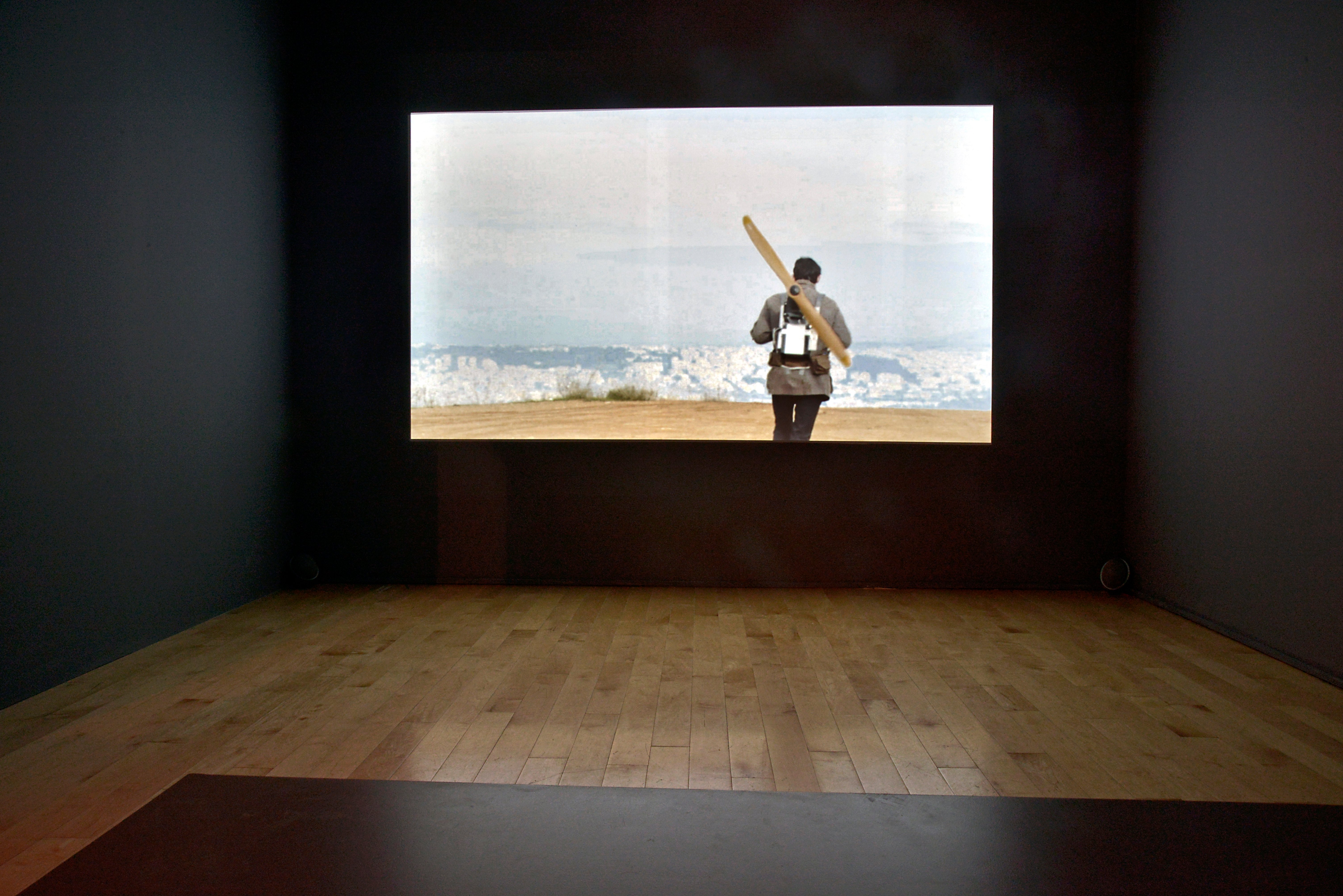 Image: Orestis Mavroudis, Attempt to Fly (2013). Exhibition view, The Equilibrists, Benaki Museum, Pireos St., Athens (June 17 – October 9, 2016). Photo © Fanis Vlastaras and Rebecca Constantopoulou.