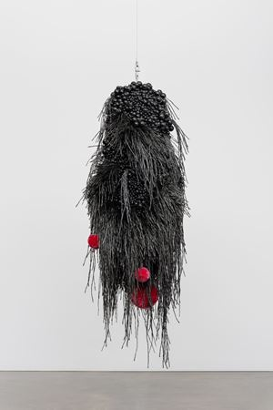 Sonic Obscuring Hairy Hug by Haegue Yang contemporary artwork