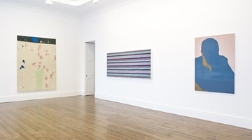 Contemporary art exhibition, Gary Hume, MUM at Sprüth Magers, London