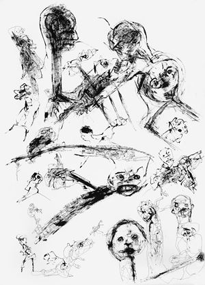 Untitled (Drawing 4) by P. R. Satheesh contemporary artwork