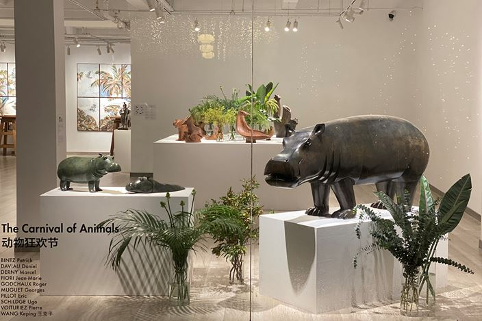 Exhibition view: Group Exhibition, The Carnival of the Animals, GalerieDumonteil, Shanghai (19 September–31 October 2020). Courtesy Galerie Dumonteil.