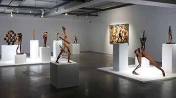 Contemporary art exhibition, Liang-Tsai Lin, In Search of the Absolute at Double Square Gallery, Taipei