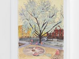 "Liu Xiaodong<br><em>Spring in New York</em><br><span class=""oc-gallery"">Lisson Gallery</span>"