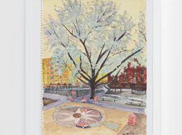 "Liu Xiaodong<br><em>Spring in New York</em><br><span class=""oc-gallery"">Lisson Gallery</span>"
