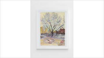Contemporary art exhibition, Liu Xiaodong, Spring in New York at Lisson Gallery, London