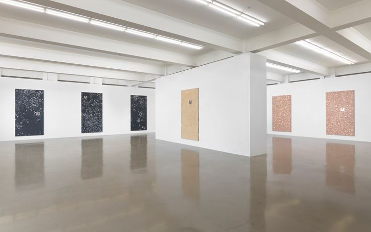 Exhibition view:Cyprien Gaillard, Reefs to Rigs, Sprüth Magers, Los Angeles (11 February–24 July 2020). Courtesy Sprüth Magers. Photo: Robert Wedemeyer.