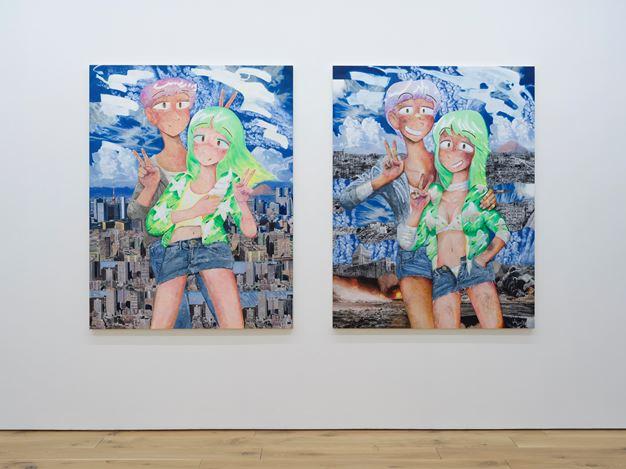 Exhibition view: Koichi Enomoto, NEW LIFE!!, Taro Nasu (16 October–14 November 2020). ©︎Koichi Enomoto. Courtesy TARO NASU. Photo: Kei Okano