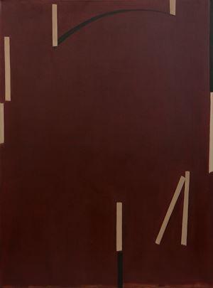 Dark Red #1 by Shi Jiayun contemporary artwork