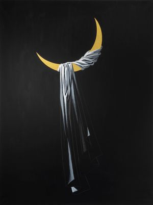The Half-moon by Aidan Salakhova contemporary artwork