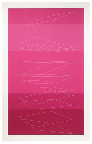Falling Cards by Kate Shepherd contemporary artwork print