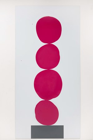 Multi-Colour Chart 21 (dark red) by David Batchelor contemporary artwork