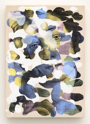 Camouflage (2) by Mircea Suciu contemporary artwork painting