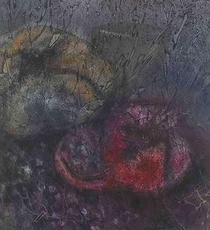 Pomegranates by Nancy Chu Woo contemporary artwork