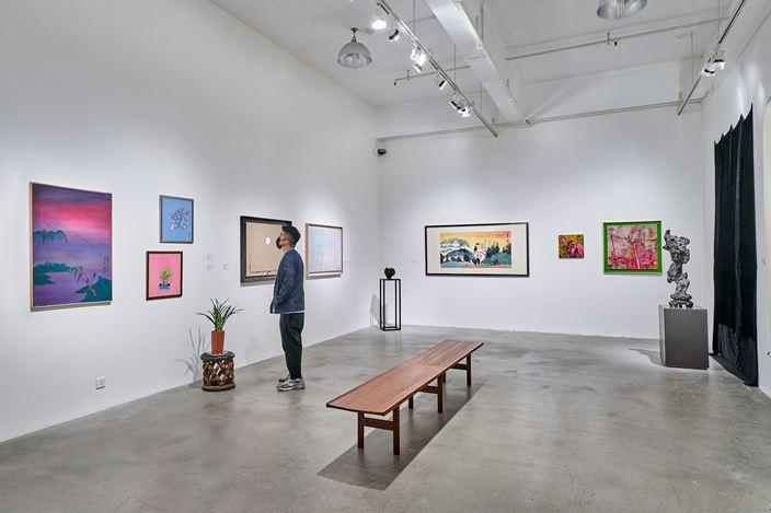 Exhibition view: A Botanical Garden at Hanart, Hanart TZ Gallery, Hong Kong (29 August–10 October 2020). Courtesy Hanart TZ Gallery. Photo: Kitmin Lee