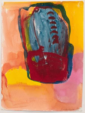 Untitled (Rock) by Brenda Nightingale contemporary artwork