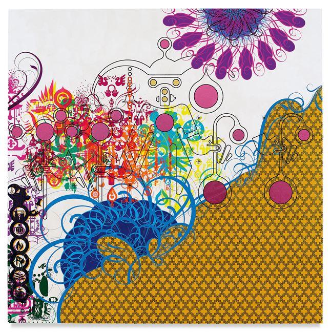 Mindscape 72 by Ryan McGinness contemporary artwork