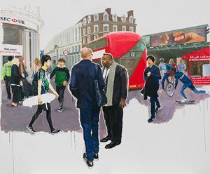 Hello London-2 by Zhu Jia contemporary artwork