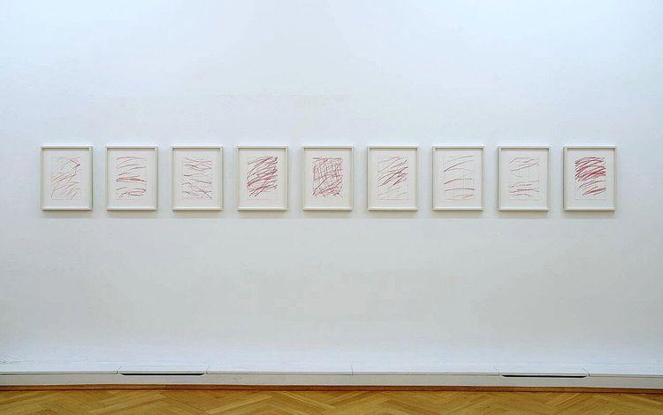 Exhibition view: Katharina Hinsberg & Karim Noureldin, Hinsberg / Noureldin,Bernhard Knaus Fine Art, Frankfurt (29 May–24 July 2021).Courtesy Bernhard Knaus Fine Art.